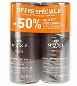 NUXE Men Deodorant mit 24 h Schutz Doppelpack