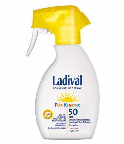 Ladival Sonnenspray Für Kinder 50 Praktisch Und Einfach Anzuwenden